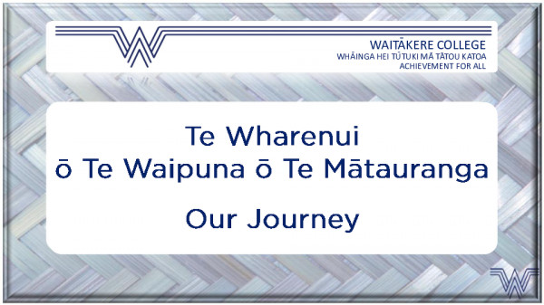Whare Journey Aug 2020