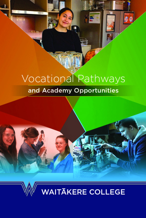 Waitakere Vocational Pathways Booklet For Web