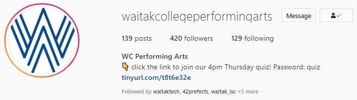 Waitak Perfoming Arts