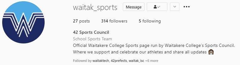 Waitak Sports
