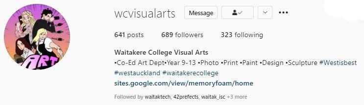 Waitak Visual Arts